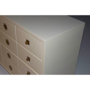 tommi parzinger chest of drawers white