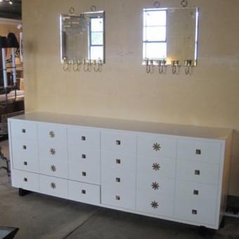 tommi parzinger chest of drawers white full