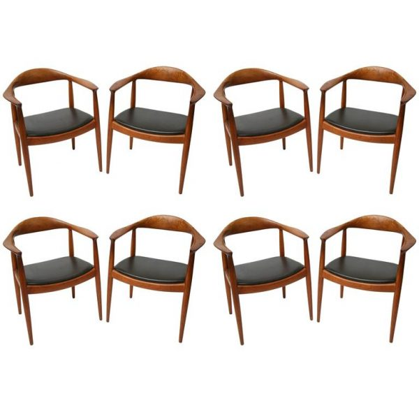 hans wegner classic chairs set