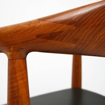 hans wegner classic chair detail