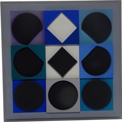 blue-geo-art