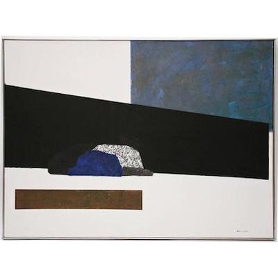 blue-geo-painting