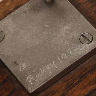 george rickey sculpture signature