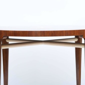 tommi parzinger dining table detail