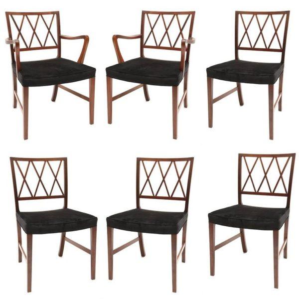 Edward Wormley Dunbar chairs